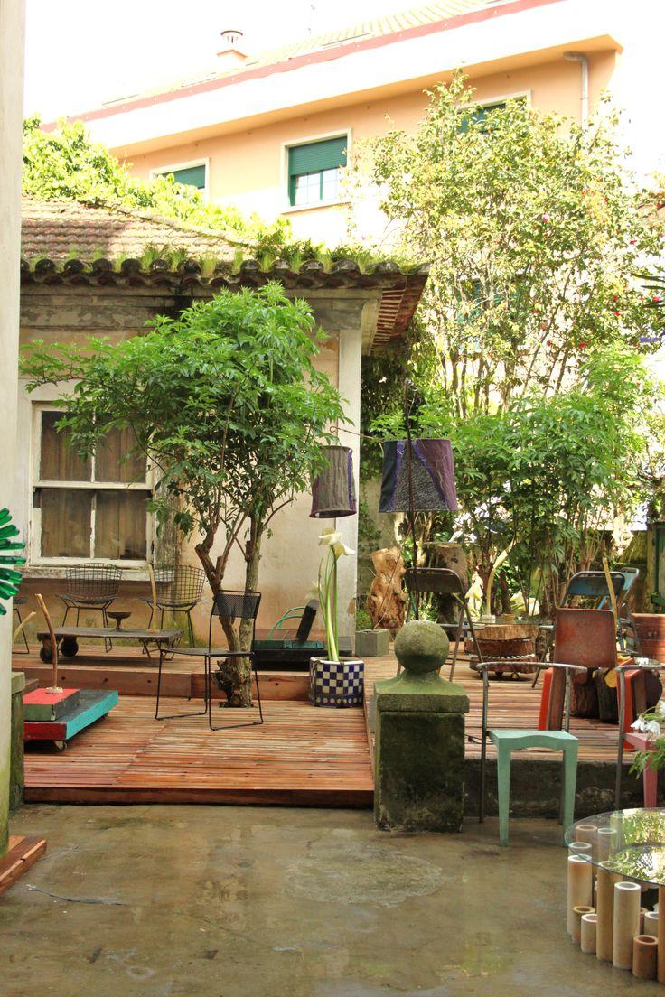 Los jardines de La Caja