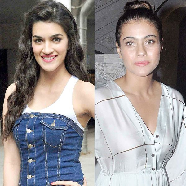 Kajol on Kriti Sanon: We made a lot of fun of her height but she took it in good humour rather than sitting and frowning about it! #Kajol  #KritiSanon