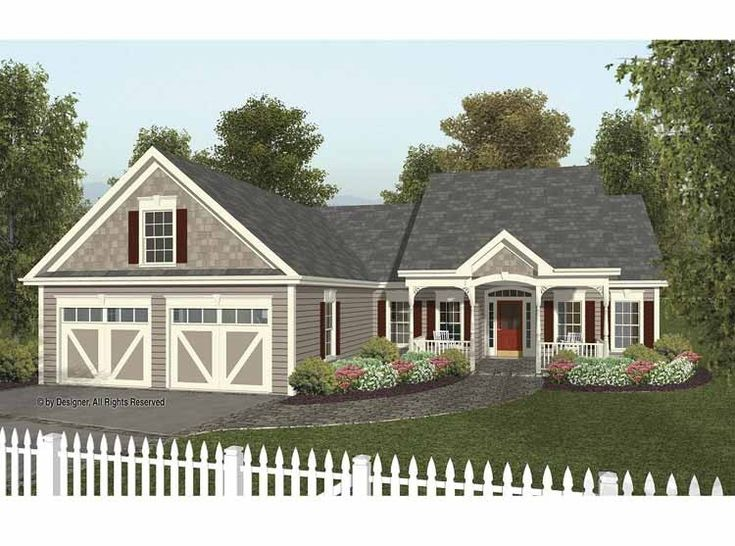 Eplans cottage house plan country cottage with all the for Eplans cottage house plan
