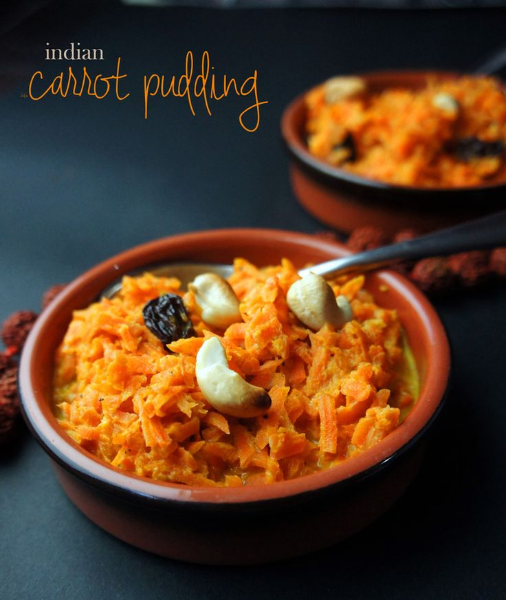 Indian Carrot Pudding is an simple dessert that's vegan, paleo, and grain-free! It's light and healthy, but is satisfyingly tasty. If carrot cake were pudding!