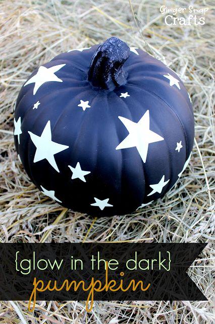 Glow in the Dark Pumpkin | Ginger Snap Crafts