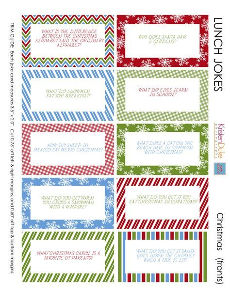 The 25 best Lunch box jokes ideas on Pinterest Lunch box notes  sc 1 st  Best christmas coloring pages & 100+ ideas Printable Christmas Jokes on excoloringc.download Aboutintivar.Com