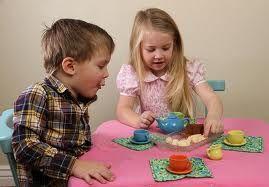 Tea party - my favourite.