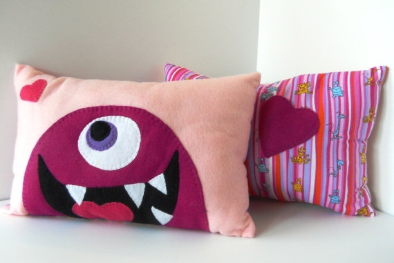 My daughter loves her Pillow Pal. Lots of Whimsical items at this Etsy shop!