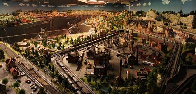 Màgic Món del Tren, un impresionante centro de modelismo ferroviario en Barcelona