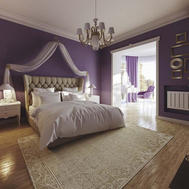 Best 25 Romantic Purple Bedroom Ideas On Pinterest: 25+ Best Ideas About Purple Bedroom Design On Pinterest