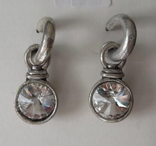 Chunky Round Dangle Earrings