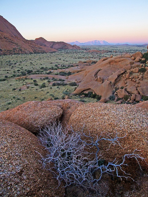 Erongo, Namibia - An area famous for its interesting granite rock formations.