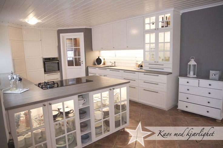 die besten 25 ikea k che landhaus ideen auf pinterest. Black Bedroom Furniture Sets. Home Design Ideas