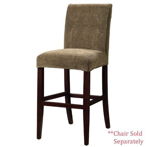 Powell Brown and Tan Checked Chenille Slip Over for Counter Stool or Bar Stool by Powell. $47.91. For use with 742-430 counter stool and 742-432 bar stool. Fabric: 72-percent rayon, 28-percent polyester. A great way to make your existing furniture new and different. Complementary to any decor. Brown and tan checked pattern. The Brown and Tan Checked Slip Over is made from chenille-72-Percent rayon, 28-Percent polyester. Slip Overs are a perfect way to make your existing cou...