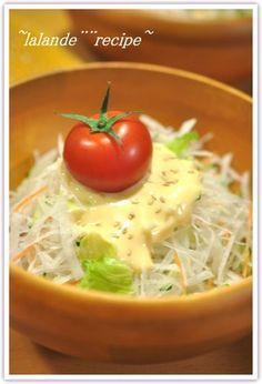 ☆びっくりドンキー★大根サラダ