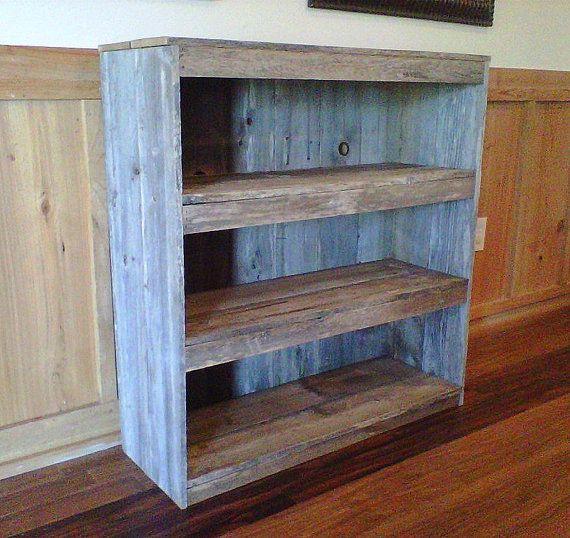 Farmhouse Bookcase Wooden Shelf Shelf Cottage Decor