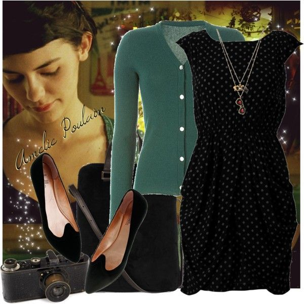 """Amelie Poulain"" by fashionistlady on Polyvore"