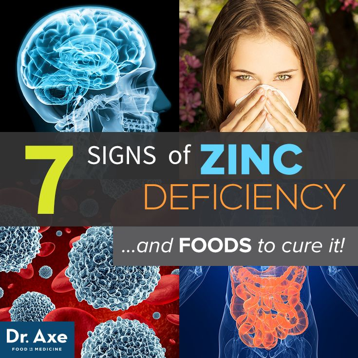 7 Signs of Zinc Deficiency and Foods to Cure it! http://www.draxe.com #health #holistic #natural