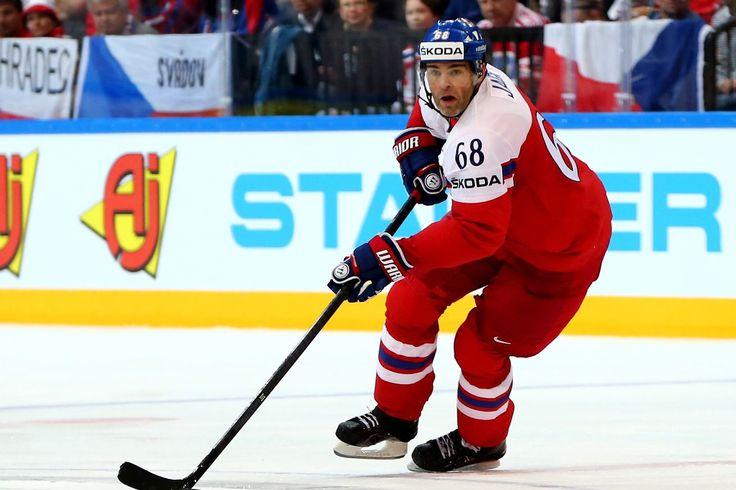 Jaromir Jagr incluidos en la República checa preliminar de jugadores para los juegos Olímpicos de 2018