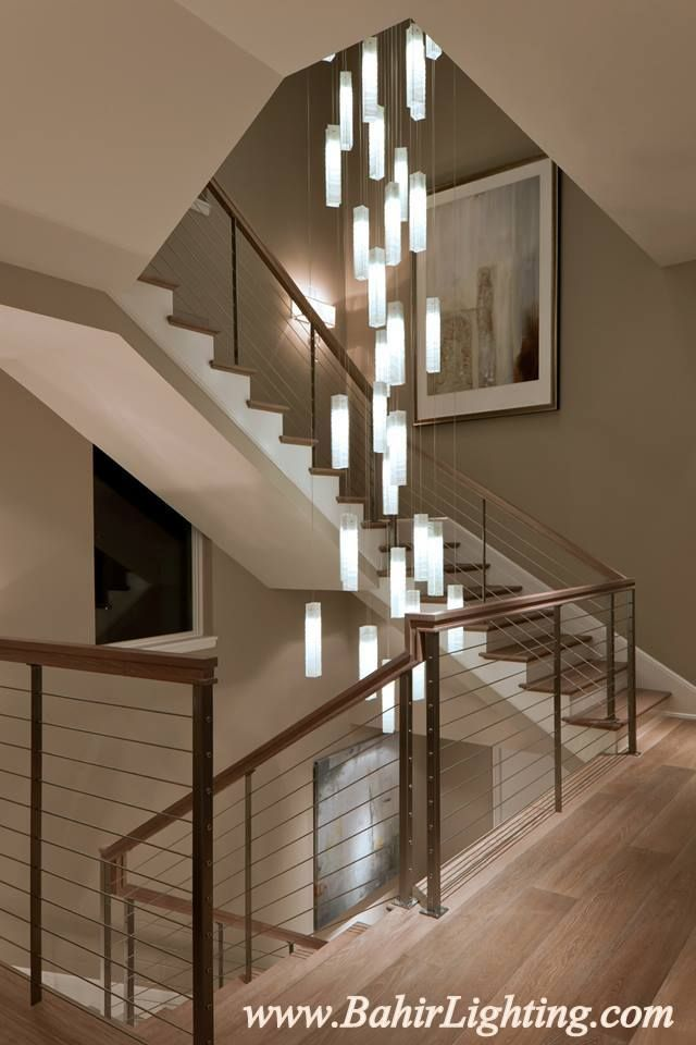 Tanzania chandelier contemporary living room stairwell light fixture contemporary staircase new york shakúff