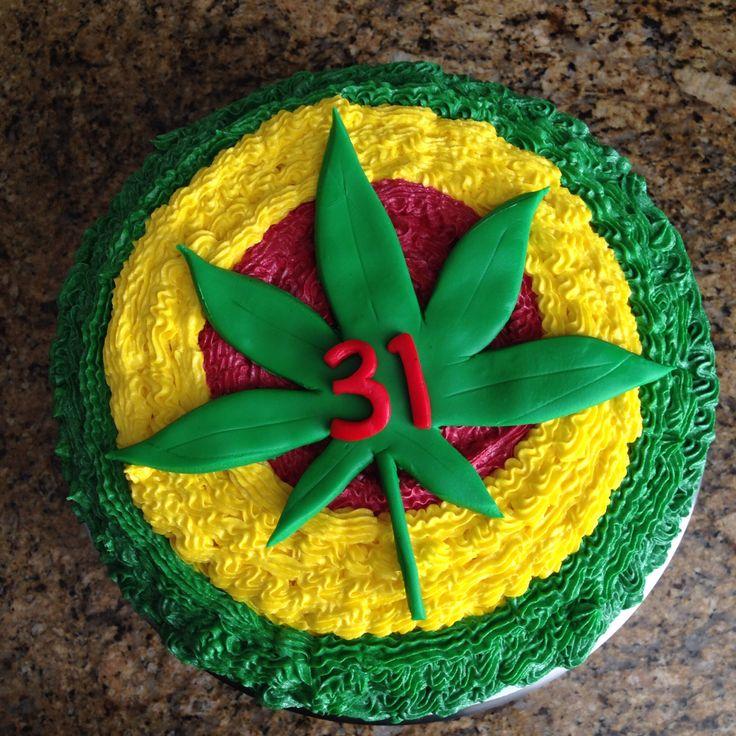 Best 25+ Weed Birthday Cake Ideas On Pinterest