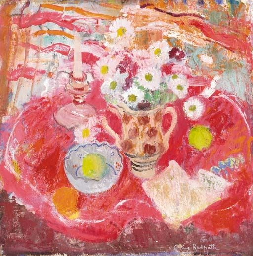 Anne Redpath, The Red Candlestick