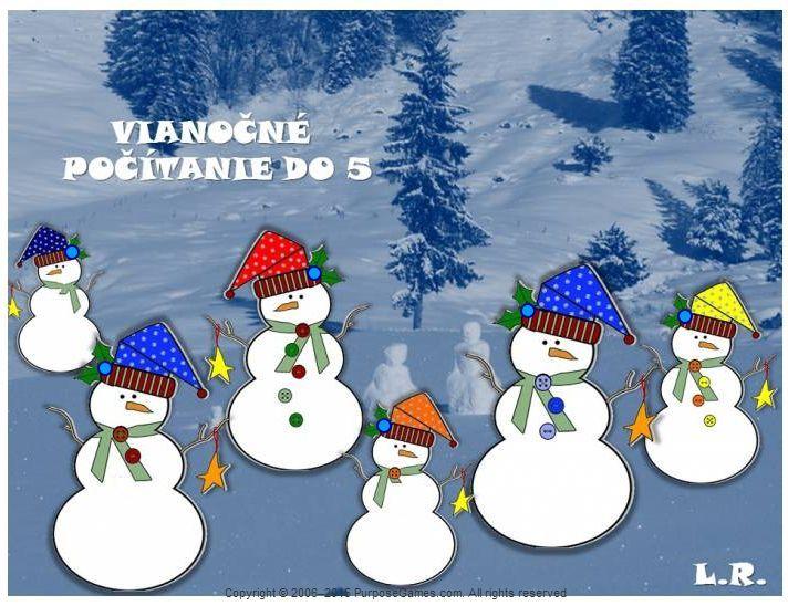Vianočné počítanie do 5 (gombíky) http://www.purposegames.com/game/vianocne-pocitanie-do-5-gombiky-quiz