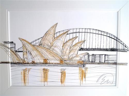 Sydney Opera House Original by Edward Waite