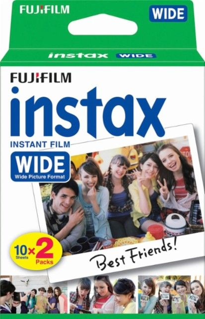 Fujifilm - Instax Wide Instant Film (2-Pack) - White - Angle_Zoom