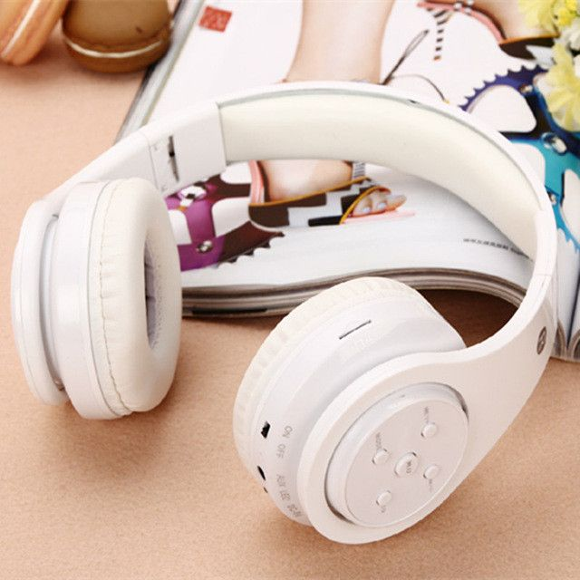 Original Wireless Casque Audio Bluetooth Headphone Stereo Headset Foldable Stretchable Head Phones Support TF Card FM Audifonos