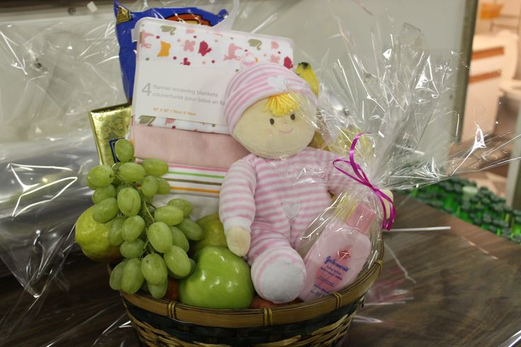 New Baby Fruit n Fun Basket! This one is for a little girl...