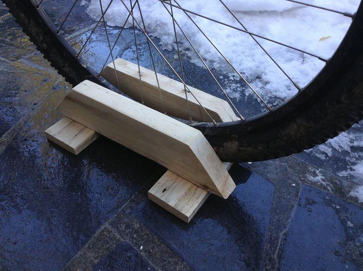 Comment fabriquer un support pour vélo
