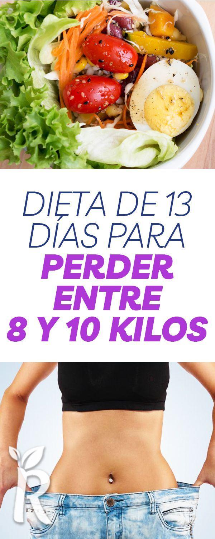Dieta De 13 Días Para Perder Entre 8 Y 10 Kilos Dieta Vegetariana Para Adelgazar Alimentos Para Adelgazar Dietas Saludables Bajar De Peso