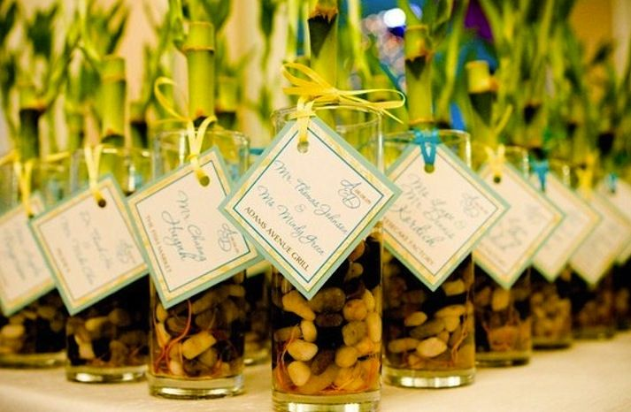 Diy Wedding Gift Ideas For Guests: Beachy Bamboo Wedding Inspiration