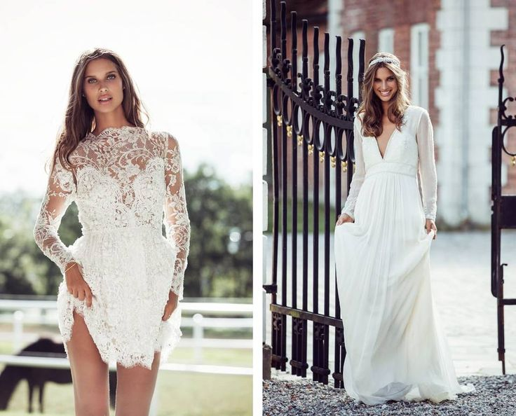 Love the dress to the right. «Cynthia» dress from Leila Hafzi, NOK 26 500,-