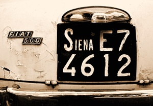 I've been to Siena.
