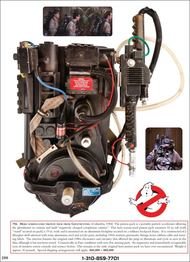 eighties memorabilia | Ghostbusters Movie Props for Auction