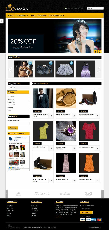 #ecommerce #joomla!#virtuemart - Hicsuntdracones.it