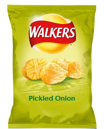 Walkers Crisps Pickled Onion and Worcestershire