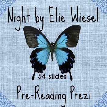 Night by Elie Wiesel Pre reading Prezi