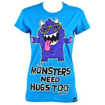 Cupcake Cult Monster Hugs t shirt – Poizen Industries tee – womens emo t shirts UK