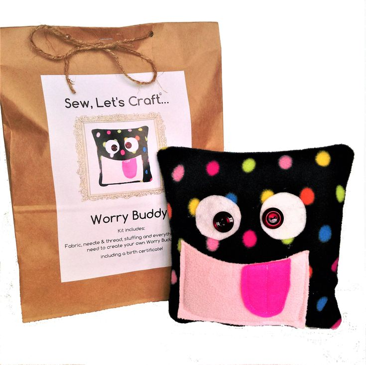 Worry buddy | Worry monster | Craft kits |