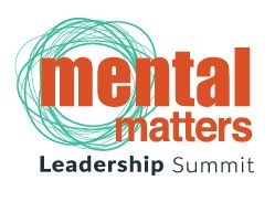 Mental Matters Leadership Summit Logo - With a bold colour scheme and a creative device, this logo stands out in the digital space for which it was designed.