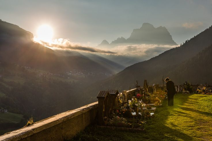 Early morning visit to the grave yard at Colle Santa Lucia by Hans Kruse on 500px