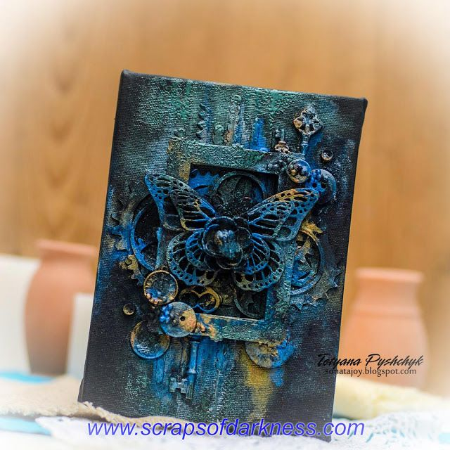 How to create a stunning mixed media canvas