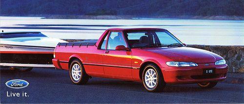 1998 Ford Falcon Ute S (Australia)