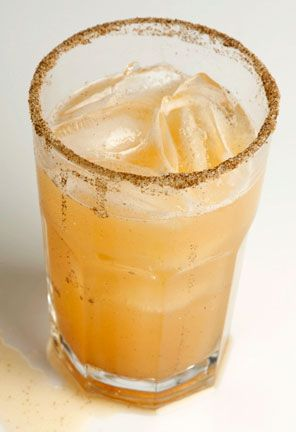 Celery Cider from Saveur:  1.5 oz. Organic Nation Vodka  2 oz. apple cider  Dash simple syrup  Pinch of celery salt  3 dashes celery bitters  Juice of one lime  Combine all ingredients over ice, shake and strain into a rocks glass over ice.  Garnish with a celery salt rim.