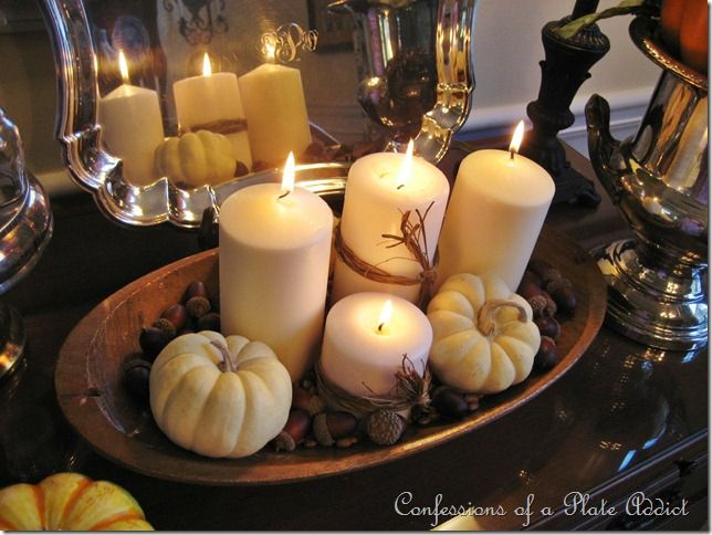 Neutral fall decoration