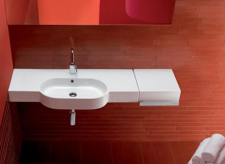 Hatria Area 810 Or 1060mm Wall Basin With Taphole