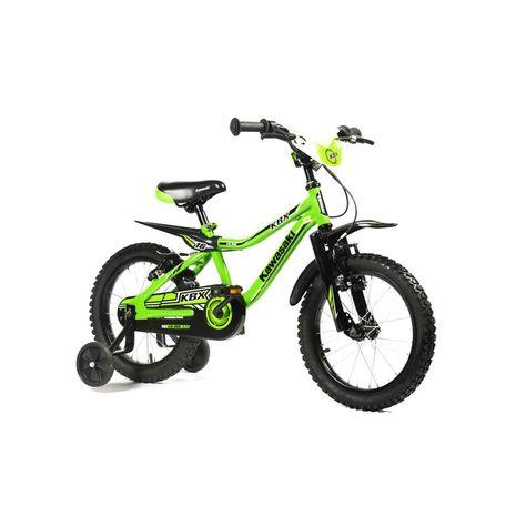 Vehicule pentru copii :: Biciclete si accesorii :: Biciclete :: Bicicleta copii Kawasaki KBX green 12 ATK Bikes