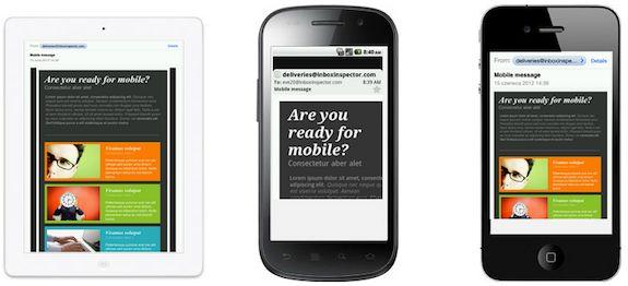 Hoy en día, más de la mitad de los correos electrónicos se abren en un dispositivo móvil ... sin embargo, menos de la mitad de los vendedores están diseñando mensajes para móvil. De hecho, el 75 por ciento de los lectores es probable que eliminen un mensaje por no ser móvil amigable. Con muchas Plantillas de correo electrónico, CastBulk hace que sea fácil crear hermosos mensajes de correo electrónico para todos los clientes. http://castbulk.com