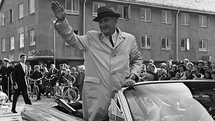 Da LBJ, var på besøk i 1963