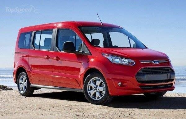 Red Ford Transit 2014 Van  ( not 2015)