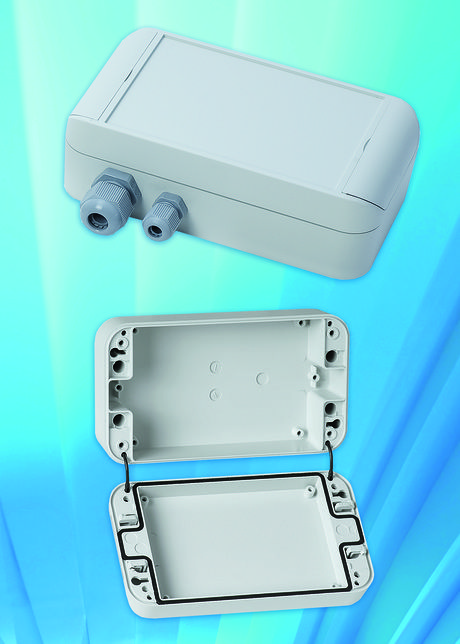 OKW has extended its Smart-Box range of IP66 enclosures. The attractive enclosures are designed for modern industrial electronics and are said to provide a more professional appearance than traditional rectangular housings.